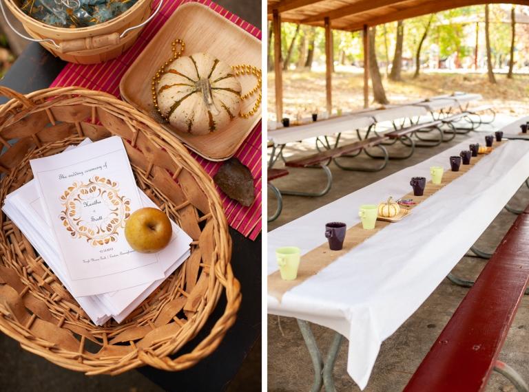 Fall DIY Wedding Decor