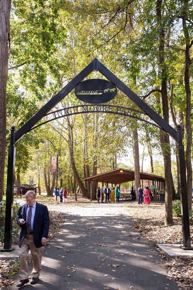 Hugh Moore Park Easton Wedding