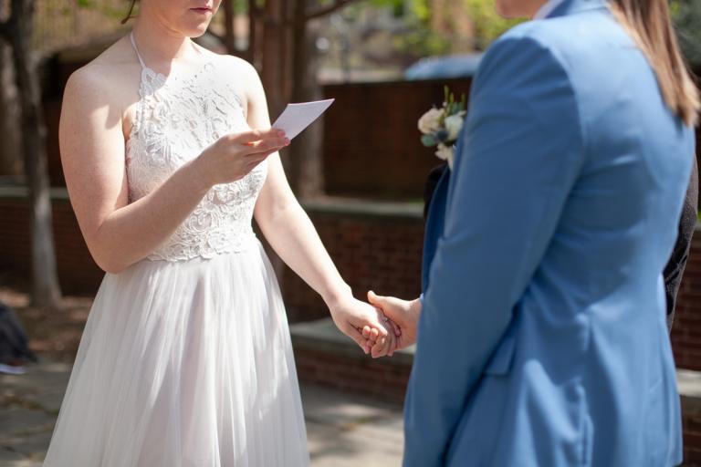 Philadelphia old city garden elopement ceremony-2