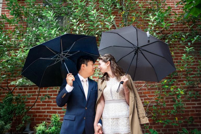 Rittenhouse Square Philadelphia Intimate DIY Wedding