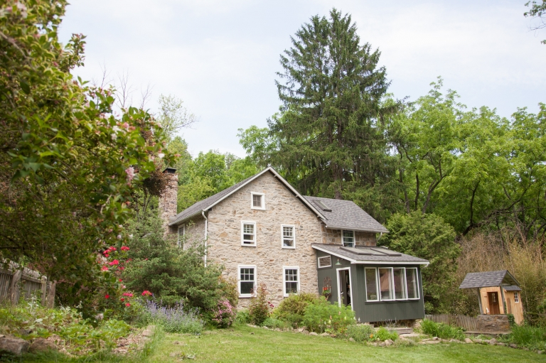 PA Quaker Farmhouse Wedding